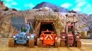 Мультики про машинки на стройке. Синий трактор Дигги и новая серия мультфильма Обвал в шахте