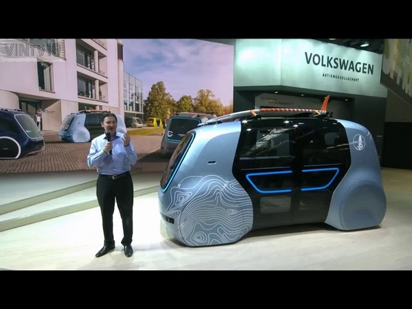 Self Driving VW SEDRIC Active Unveiling