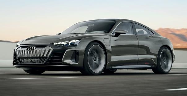 Седан Audi e-tron GT: будущий родственник Тайкана