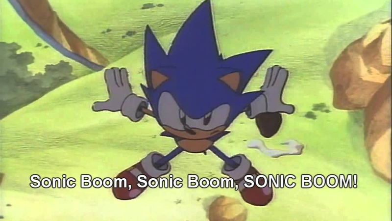 Sonic CD Sonic Boom (Crush 40) with Lyrics