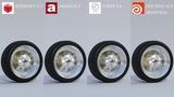 Render Comparison Test 3 (Motion Blur) - Redshift, Arnold, V-Ray, Mantra -
