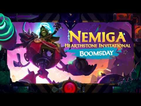 Nemiga Hearthstone Invitational: Boomsday PLAYOFF