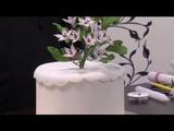 Como hacer un ramillete de jazmin con pasta de azucar - Hogar Tv por Juan Gonzalo Angel