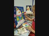 Настюша пишет Снеговика