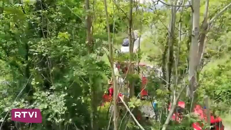 В Италии разбился туристический автобус