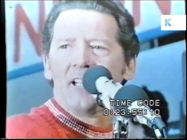 1972 Jerry Lee Lewis at the London Rock and Roll Show