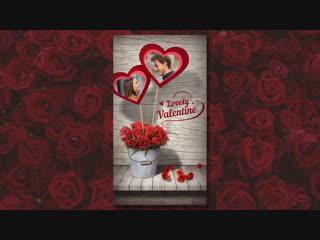 Делаем в Фотошоп открытку ко Дню всех влюблённых