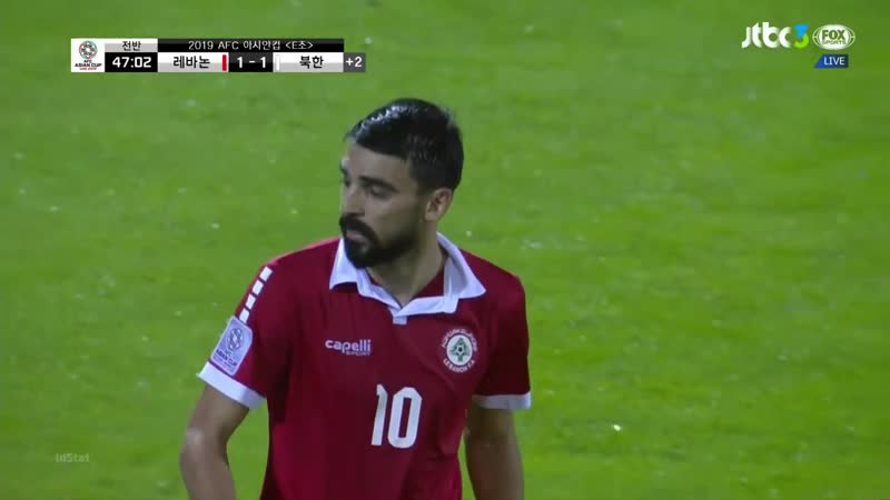 Кубок Азии-2019-Е3-170119 Ливан - КНДР