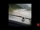 В Кабардино-Балкарии из-за подтопления временно закрыта автодорога в Приэльбрусье