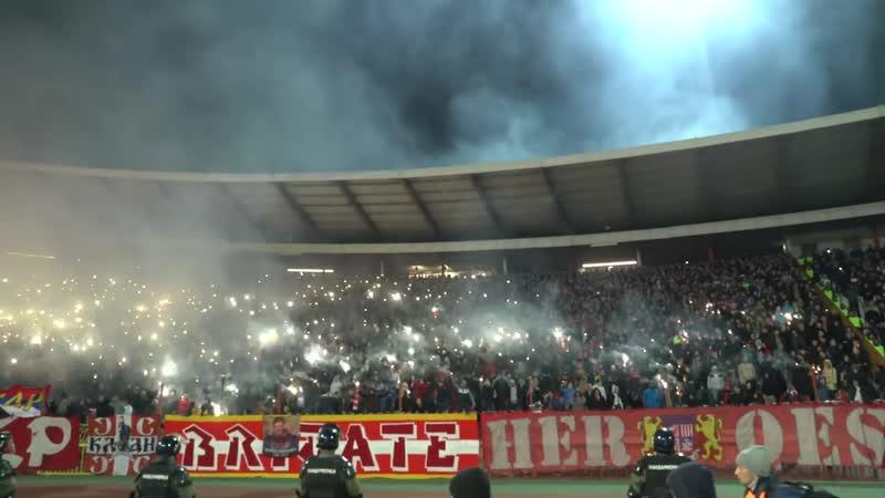 Crvena Zvezda Partizan VEČITI DERBI 159 Navijanje HD