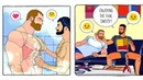Daily Life Of A Gay Couple Illustration   LOLO JOE (Part 1)
