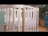 Кроватка-трансформер MOMMY _ Happy Baby