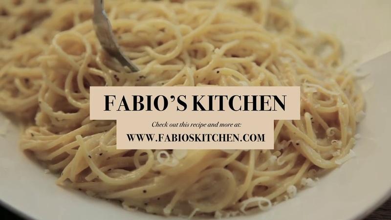 Fabio's Kitchen: Episode 8, Spaghetti Cacio e Pepe