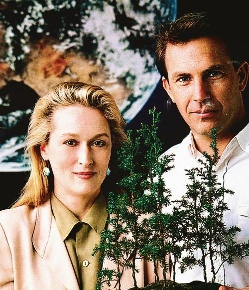 Кевин Костнер и Мерил Стрип в фотосессии ко Дню Земли