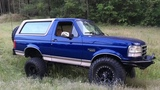 1996 Ford Bronco Build MAF obII 460 and 1 Ton swap