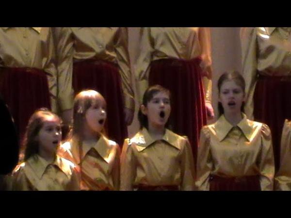 Образцовый хор Фантазия Бериславской ДМШ на областном конкурсе ВЕСНЯНІ ДЗВІНОЧКИ