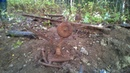 Эхо ужд в глухом лесу Коп металлолома 820 кг