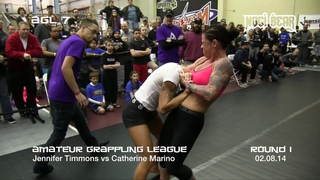 CHOKE OUT! Girls Grappling No-Gi • Women Wrestling BJJ MMA Female