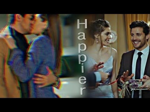 Leyla, Emra Othman | Happier ( English Arabic translation)