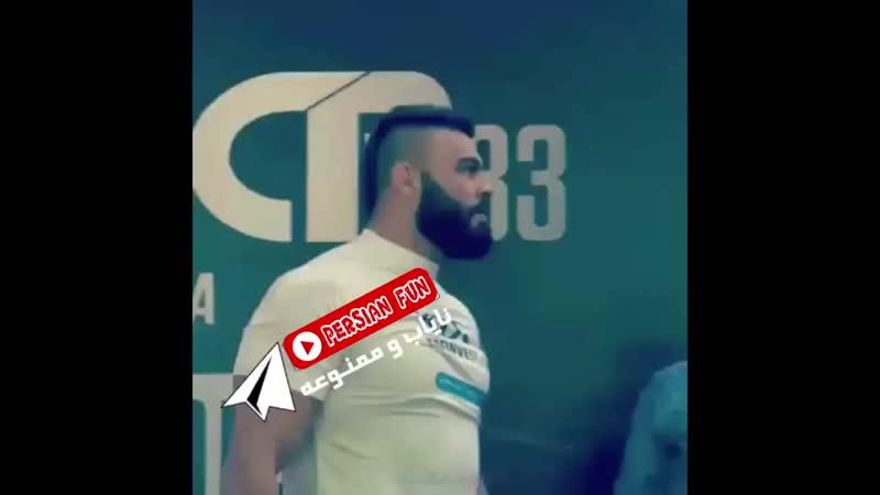 Амир АликБари Иранский Воин
