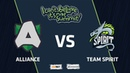 Alliance vs Team Spirit, Game 1, Group Stage, I Can't Believe It's Not Summit