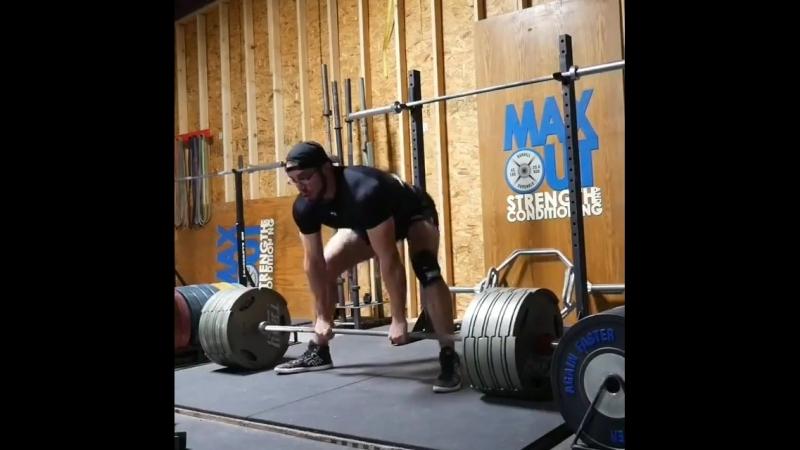 Кайлер Вулам - тяга 346 кг