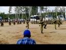 Показательные выступления солдат 31 й ОДШБ на закрытии VII Международного форума Инженеры будущего