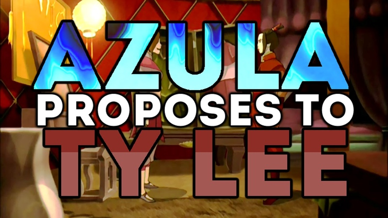 Azula Proposes to Ty Lee (Real voice actresses!)