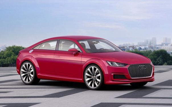 Новый Audi TT может стать четырехдверным.