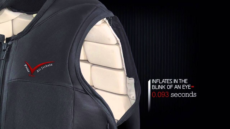 Point Two Air Jackets - P2-RS Hybrid Racesafe Air Vest