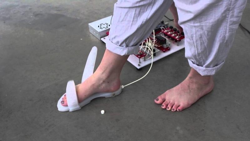 AirStrap: Actuator Sandal Demonstration