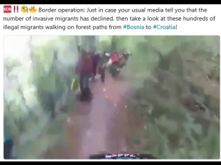 Border operation: Just in case your usual media tell you that the number of invasive migrants has declined, then take a look at