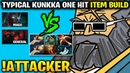Attacker Kunkka 2x Rapier vs MagE and General Is this Fair Game