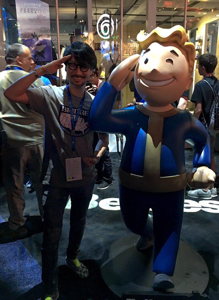 Кодзима тоже любит Fallout