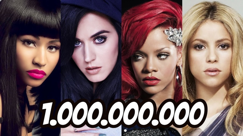 All Music Videos With 1 Billion Views on YouTube (UPDATED)