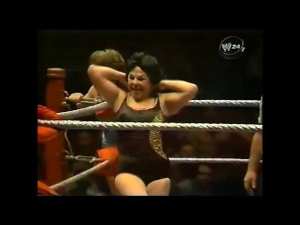 The Fabulous Moolah Leilani Kai vs. Suzette Ferreira Jill Fontaine, 4-6-1981