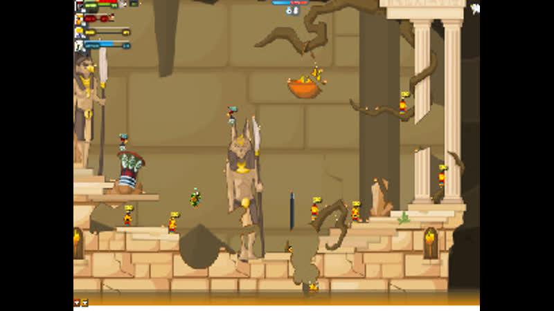Вормикс: Я vs Фараон (94 уровень)