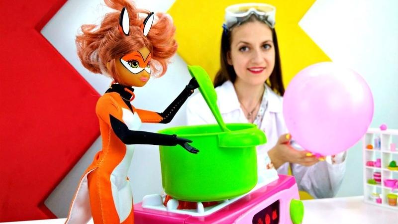 Видео с игрушками: Леди Баг. Как отделить соль от перца?