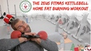 The Fitmas Kettlebell Total Body Home Fat burning Workout Christmas workout