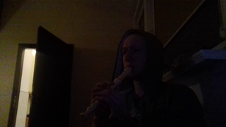 Импровизация на блок флейте