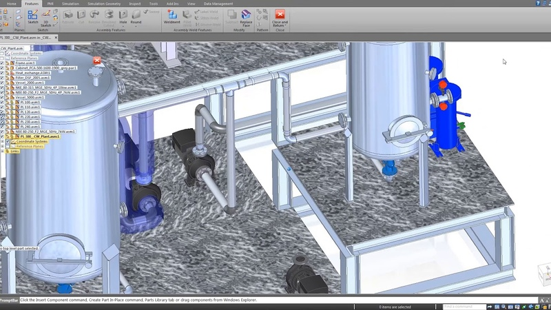 Solid Edge Modular Plant Design: PID and Piping Design