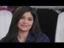 Русские субтитры | Блиц-опрос Кайли Дженнер на съёмках рекламной кампании Calvin Klein | Осень 2018.