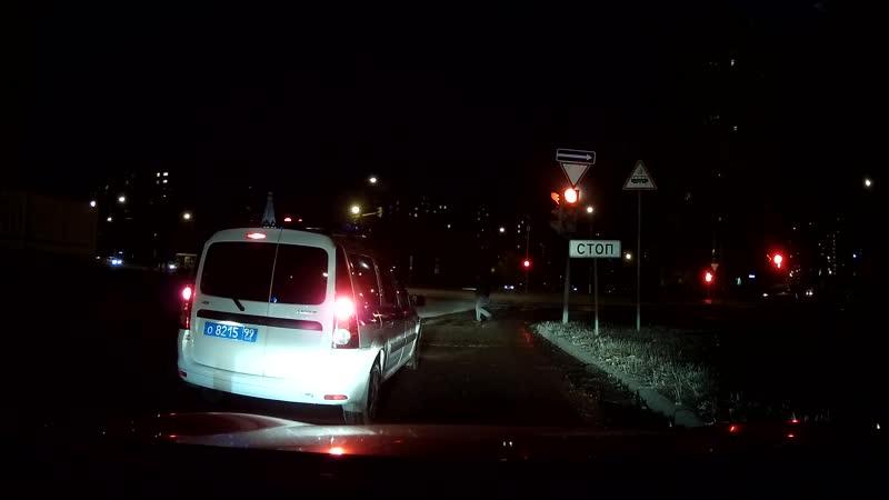 Автоподстава или безалаберность пешехода?!