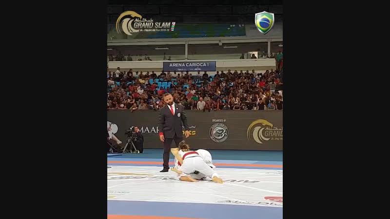 Mayssa Bastos Abu-Dhabi Grand Slam Rio 2018