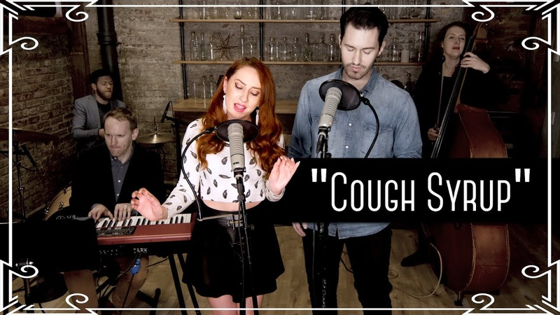 """Cough Syrup"" (Young The Giant) Cover by Robyn Adele Anderson ft. Sean Clapis"
