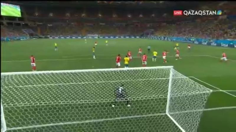 FIFA-2018. Бразилия - Швейцария. Шикарный гол Фелипе Коутиньо