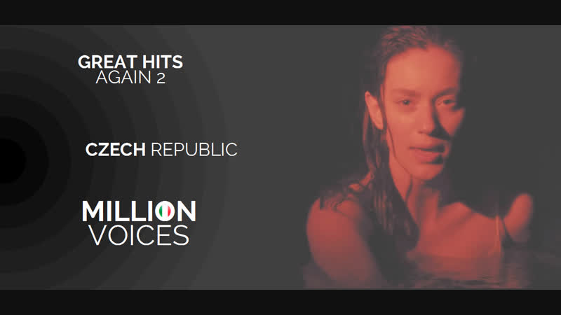 Natali Felicia - Run Like The River - Czech Republic - Official Music Video - MILLION VOICES | Great Hits Again 2