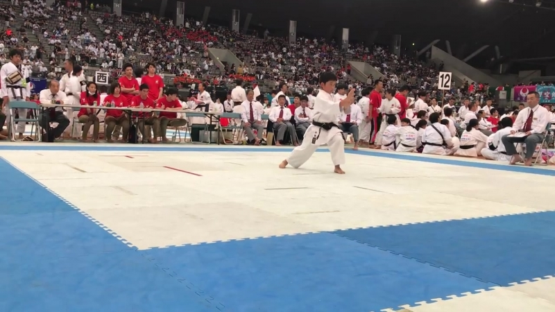 61 JKA Juniors Bassai Dai 4th place