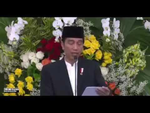 Cuplikan Mauidzoh Hasanah Habib Jindan bin Noval di Istana Presiden Bogor,