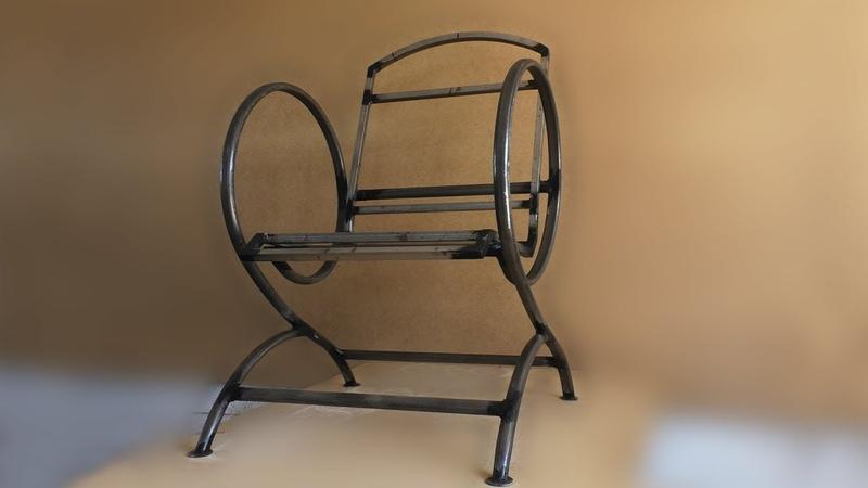 Кресло из труб (каркас) rhtckj bp nhe, (rfhrfc)